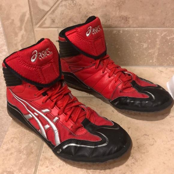regalo inversión limpiador  Asics Shoes   Mens Wrestling Shoe Size 95 Style Jy302   Poshmark